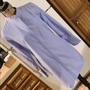 Missguided button down mini dress size women's 4